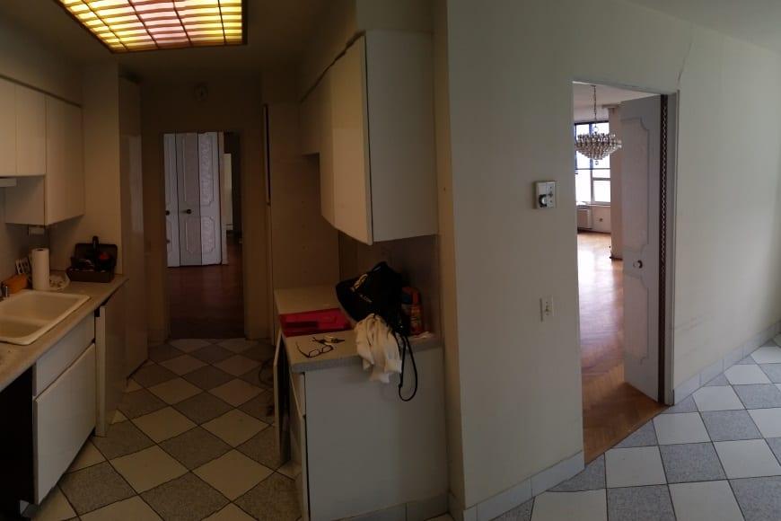 Edgewater Condo Kitchen Remodel - Before